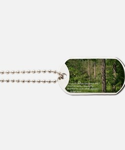 The Road Not Taken Dog Tags