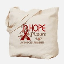 Hope Matters 3 Amyloidosis Tote Bag