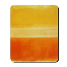 ROTHKO IN YELLOW  ORANGE Mousepad