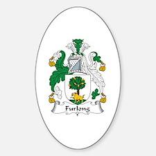 Furlong Oval Bumper Stickers