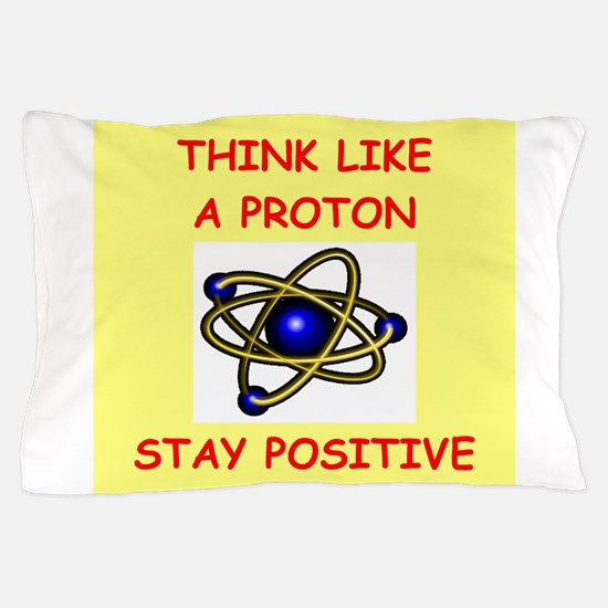 physics joke Pillow Case