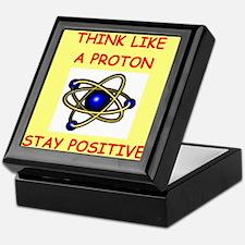 physics joke Keepsake Box