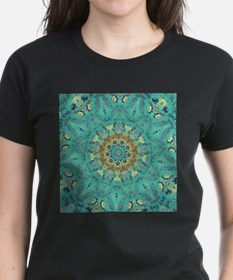 Teal Kaleidoscope T-Shirt