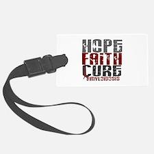 Hope Faith Cure Amyloidosis Luggage Tag