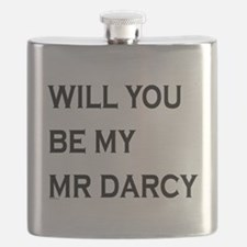 Will You Be My Mr Darcy Flask