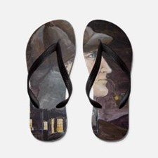 Hound of the Baskervilles Flip Flops