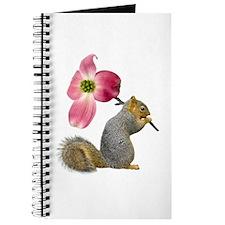 Squirrel Pink Flower Journal