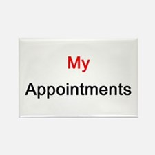 My Appointments Rectangle Magnet