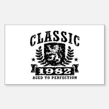 Classic 1982 Sticker (Rectangle)