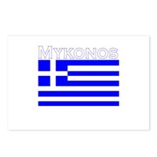 Mykonos, Greece Postcards (Package of 8)