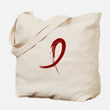 Graffiti Ribbon Amyloidosis Tote Bag