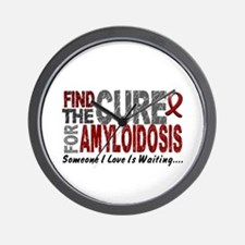 Find the Cure Amyloidosis Wall Clock