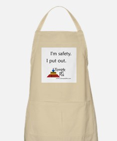 Temple of Poi Safety BBQ Apron