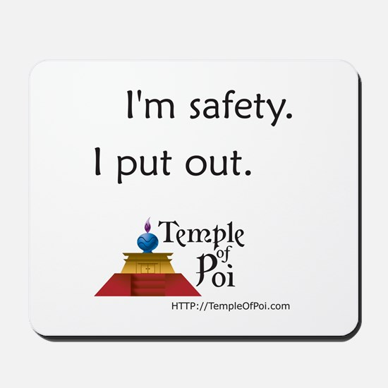 Temple of Poi Safety Mousepad