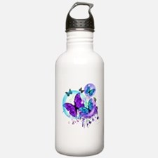 Bubble Butterflies CM BB Water Bottle