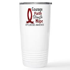 Courage Faith 1 Amyloid Travel Mug