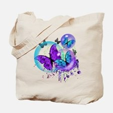 Bubble Butterflies CM BB Tote Bag