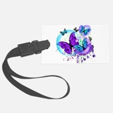 Bubble Butterflies CM BB Luggage Tag