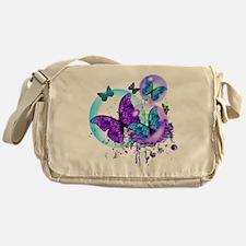 Bubble Butterflies CM BB Messenger Bag
