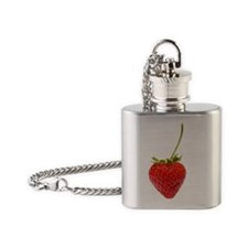 Strawberry Flask Necklace