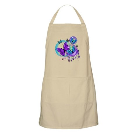Bubble Butterflies CM BB Apron