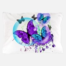 Bubble Butterflies CM BB Pillow Case