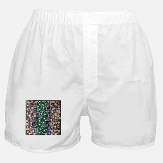 ABORIGINAL ART 7 Boxer Shorts