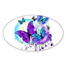 Bubble Butterflies CM BB Decal