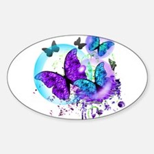 Bubble Butterflies CM BB Decal