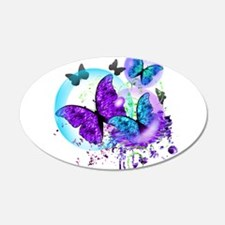 Bubble Butterflies CM BB Wall Decal