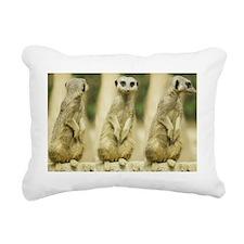 Sweet Meerkat Rectangular Canvas Pillow