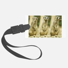 Sweet Meerkat Luggage Tag
