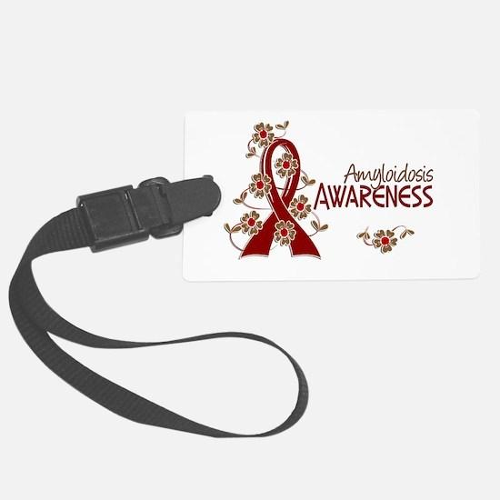 Awareness 6 Amyloidosis Luggage Tag
