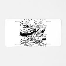 yousef Aluminum License Plate