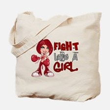Licensed Fight Like a Girl 42.8 Amyloidos Tote Bag