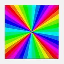 Colorful Art Tile Coaster