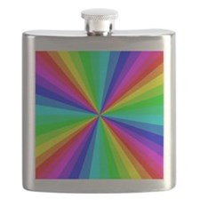 Colorful Art Flask