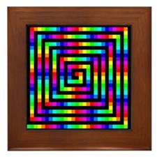 Colorful Art Framed Tile