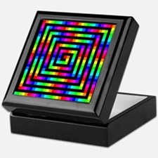 Colorful Art Keepsake Box