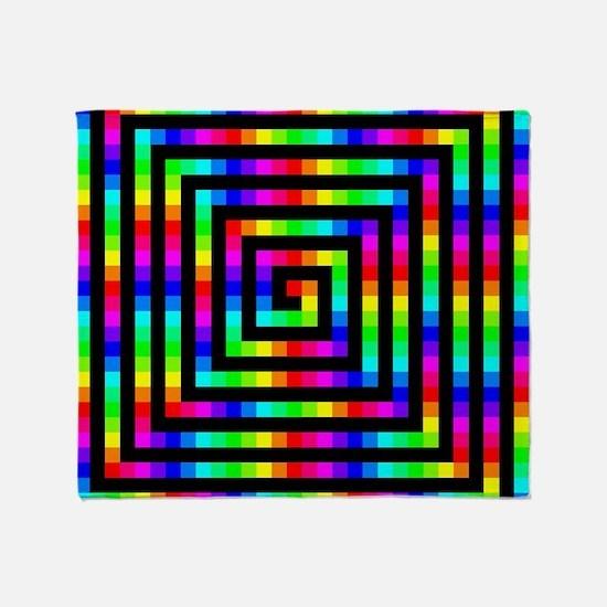 Colorful Art Throw Blanket