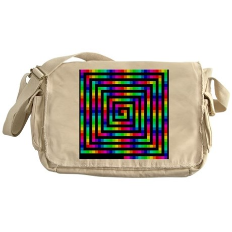 Colorful Art Messenger Bag