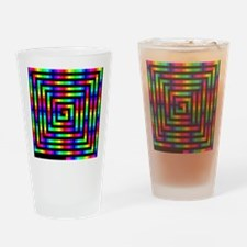 Colorful Art Drinking Glass