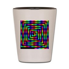 Colorful Art Shot Glass