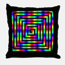 Colorful Art Throw Pillow
