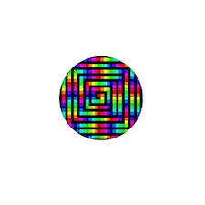 Colorful Art Mini Button