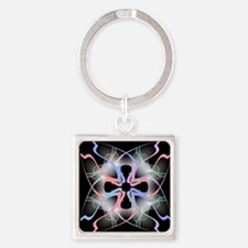 Abstract Art Square Keychain