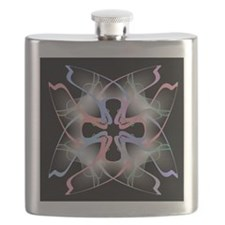 Abstract Art Flask