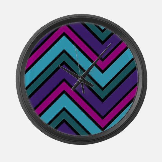 Abstract Art Large Wall Clock