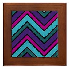 Abstract Art Framed Tile