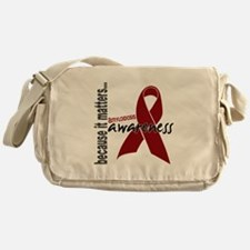 Awareness 1 Amyloidosis Messenger Bag